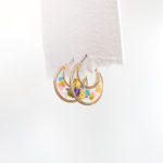 Petal (Indigo) Luna Earrings