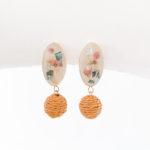Petal (Blossom) Wood Earrings