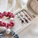 Gemstone stud gift box